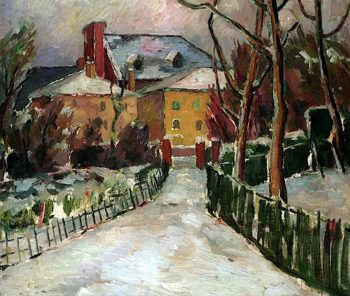 Landscape under Snow | Frederick James Porter | oil painting
