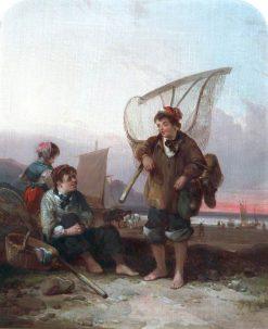 Fishermen | William Shayer Snr | oil painting