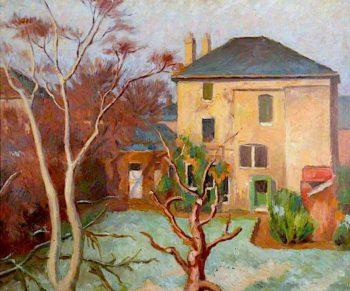 Winter Morning   Frederick James Porter   oil painting