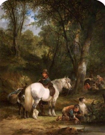 Gypsy Encampment | William Shayer Snr | oil painting