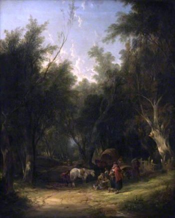 Gypsy Encampment | William Shayer Snr | oil painting