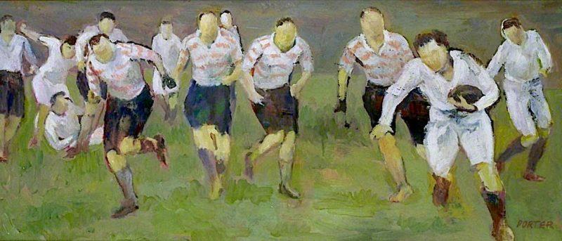 The Break Away | Frederick James Porter | oil painting