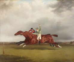 Horse Race between Mr T. Cosbys Copper Captain and Lord Lichfields Minster