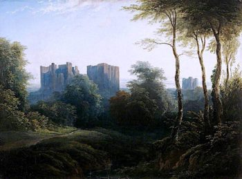 Kenilworth Castle | Joseph Murray Ince | oil painting