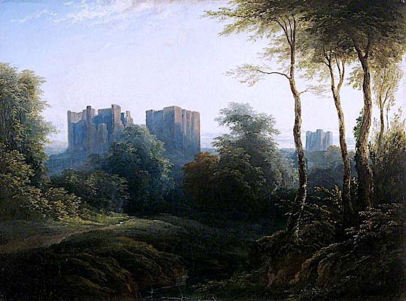 Kenilworth Castle | Joseph Murray Ince | oil painting