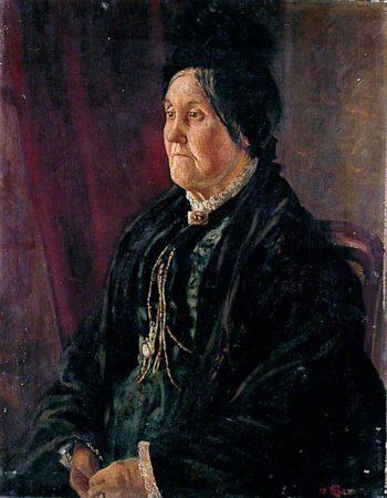 Mrs Lowman | Alford Usher Soord | oil painting