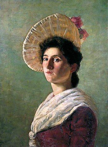 Miss Thorpe | Alford Usher Soord | oil painting