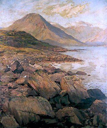 Wasdale Head | Alford Usher Soord | oil painting