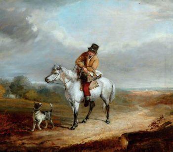 Returning from Market | William Shayer Snr | oil painting