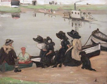 A Cord | Francis Henry Newbery | oil painting