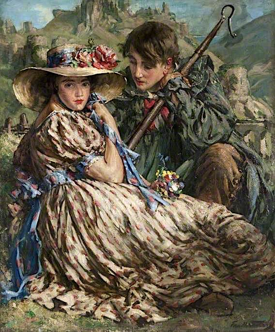 Castles in the Air | Francis Henry Newbery | oil painting