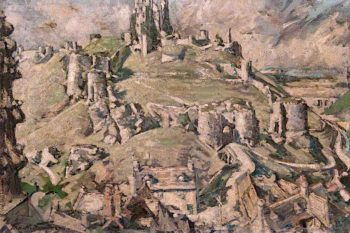 Corfe Castle | Francis Henry Newbery | oil painting