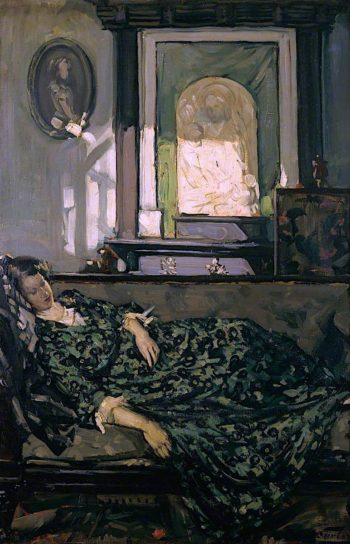 Daydreams | Francis Henry Newbery | oil painting