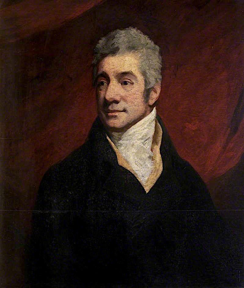 Colonel Adenbroke   John Opie   oil painting
