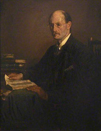 George Gilbert Aimé Murray | Francis Henry Newbery | oil painting