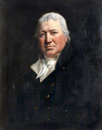 Doctor Burton   John Opie   oil painting