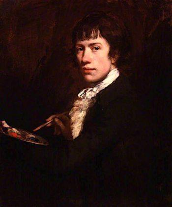 Self - Portrait   John Opie   oil painting