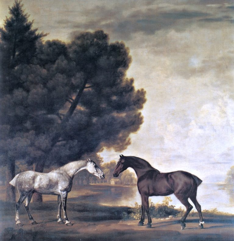 Two Horses Belonging to Sir Henry Bridgeman MP
