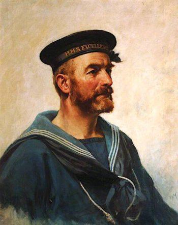 Head of a Sailor | Arthur McCormick | oil painting
