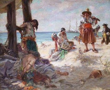 Mutineers | Arthur McCormick | oil painting