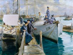 Womens Royal Naval Service Officer and Ratings... | Arthur McCormick | oil painting