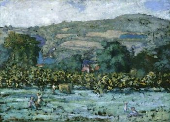 Landscape | Pierre Bonnard | oil painting