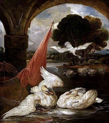 The Descent of the Swan | James Ward | oil painting
