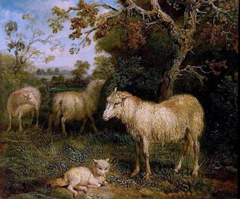 Landscape with Sheep | James Ward | oil painting