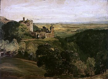 Castle Campbell | Horatio McCulloch | oil painting