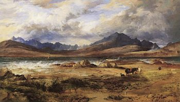 The Cuillins from Ord | Horatio McCulloch | oil painting