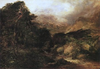 Glen Affric   Horatio McCulloch   oil painting