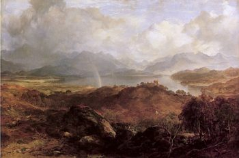 My Hearts in the Highlands | Horatio McCulloch | oil painting