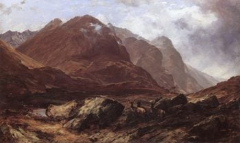 Glencoe | Horatio McCulloch | oil painting