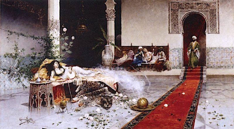 The Sultans Favorite | Juan Gimenez Martin | oil painting