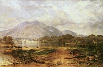 Loch Achray | Horatio McCulloch | oil painting