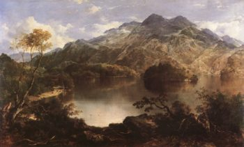 Loch Katrine | Horatio McCulloch | oil painting
