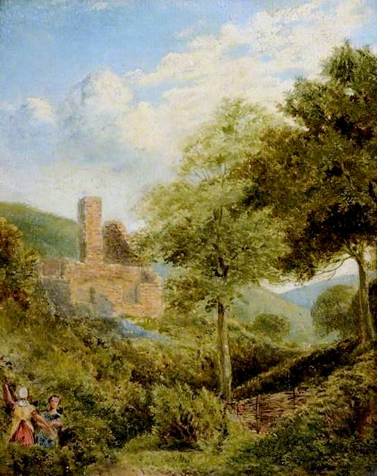 The Ruined Mill | Myles Birket Foster | oil painting