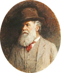 Self - Portrait | Myles Birket Foster | oil painting