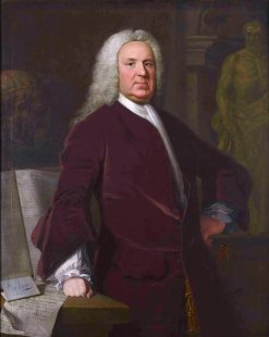 Dr Mead | Allan Ramsay | oil painting