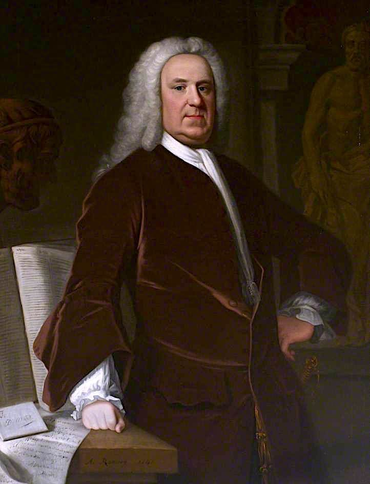 Dr Richard Mead | Allan Ramsay | oil painting