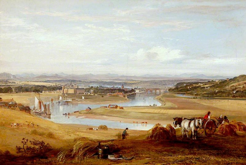 Perth from the South | Horatio McCulloch | oil painting