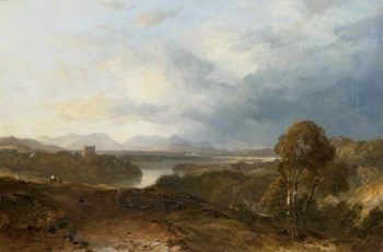 Ross - shire Landscape | Horatio McCulloch | oil painting