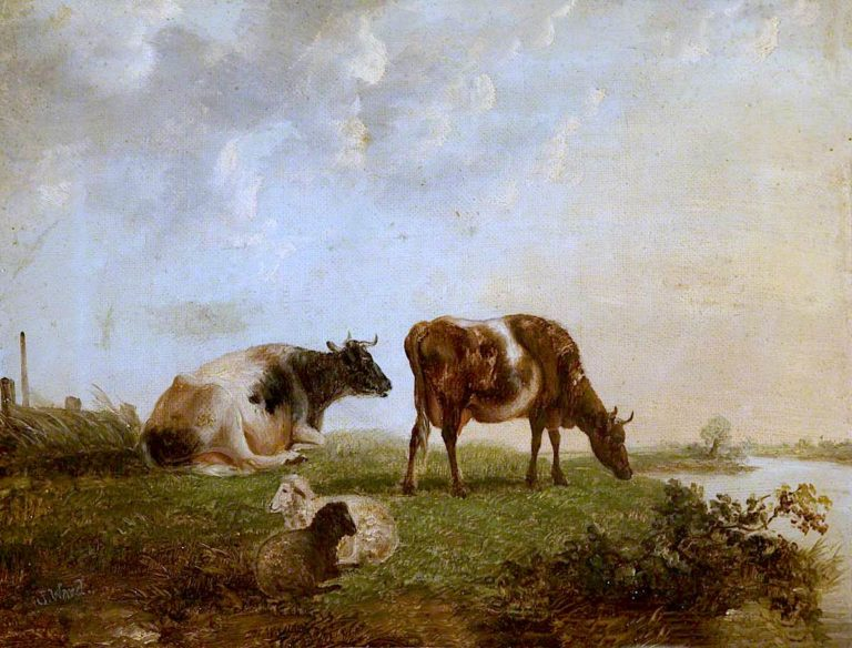 Cattle   James Ward   oil painting