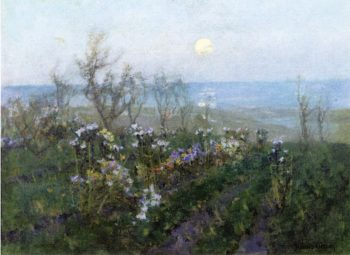Moonlight across the Bay | Albert Julius Olsson | oil painting