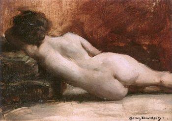 Reclining Nude | Allan Douglas Davidson | oil painting