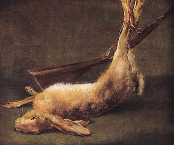 Dead Hare | James Ward | oil painting