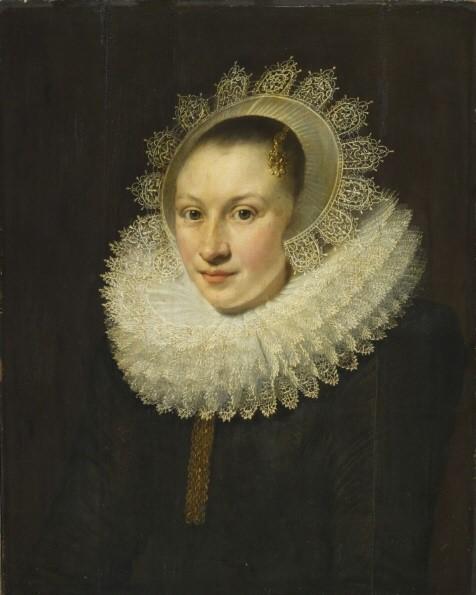 Portrait of a Young Woman   Michiel Jansz. van Mierevelt   oil painting