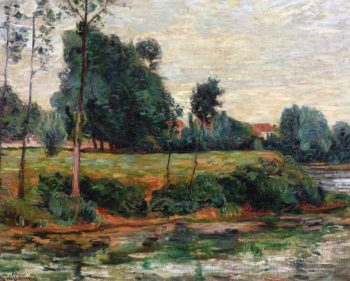 Banks of the Seine at Charenton | Armand Guillaumin | oil painting