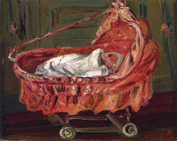 The Pram | Abraham Mintchine | oil painting