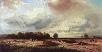 After the Storm | August Seidel | oil painting
